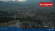 Archived image Webcam View at Oberstdorf city 23:00