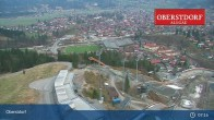 Archived image Webcam View at Oberstdorf city 01:00