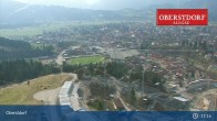Archived image Webcam View at Oberstdorf city 11:00