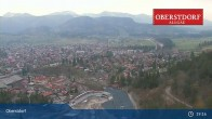 Archived image Webcam View at Oberstdorf city 13:00