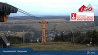 Archiv Foto Webcam Blick nach Oberwiesenthal 23:00