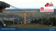 Archived image Webcam View towards Oberwiesenthal 21:00