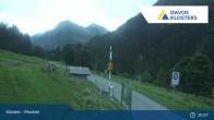 Archived image Webcam Monbiel Car Park (Klosters) 19:00