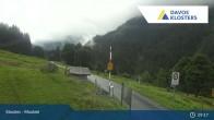 Archived image Webcam Monbiel Car Park (Klosters) 03:00