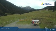 Archiv Foto Webcam Alp Garfiun - Klosters 19:00
