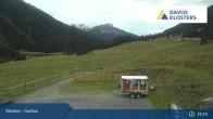 Archiv Foto Webcam Alp Garfiun - Klosters 21:00