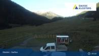 Archiv Foto Webcam Alp Garfiun - Klosters 03:00