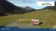 Archiv Foto Webcam Alp Garfiun - Klosters 05:00