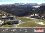 Archiv Foto Webcam Saalbach: Bergstation der Westgipfelbahn 06:00