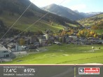 Archived image Webcam Saalbach mountain village 11:00