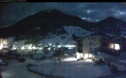 Archived image Webcam features a view of the Tennergebirge mountains 00:00