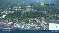 Archived image Webcam Bellinzona: Castelgrande 19:00