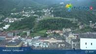 Archived image Webcam Bellinzona: Castelgrande 21:00