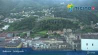Archived image Webcam Bellinzona: Castelgrande 01:00
