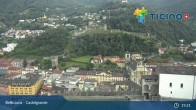 Archived image Webcam Bellinzona: Castelgrande 23:00