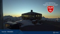 Archived image Webcam Saas-Fee (Mittelallalin) 01:00