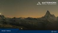 Archiv Foto Webcam Rothorn Zermatt 19:00