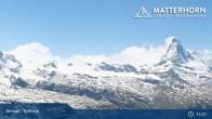 Archiv Foto Webcam Rothorn Zermatt 07:00