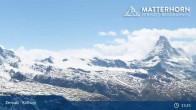 Archiv Foto Webcam Rothorn Zermatt 09:00