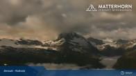 Archiv Foto Webcam Rothorn Zermatt 21:00