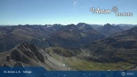 Archived image Webcam Valluga mountain in St. Anton 07:00