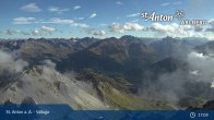 Archived image Webcam Valluga mountain in St. Anton 11:00