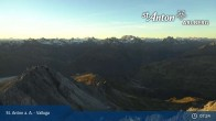 Archived image Webcam Valluga mountain in St. Anton 01:00