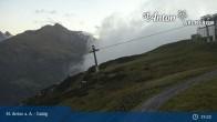 Archived image Webcam Galzig Mountain (St. Anton) 19:00