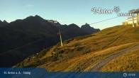 Archived image Webcam Galzig Mountain (St. Anton) 01:00