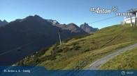 Archived image Webcam Galzig Mountain (St. Anton) 03:00