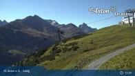 Archived image Webcam Galzig Mountain (St. Anton) 05:00