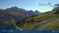 Archived image Webcam Galzig Mountain (St. Anton) 09:00