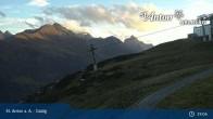 Archived image Webcam Galzig Mountain (St. Anton) 13:00
