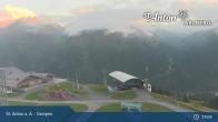 Archived image Webcam Gampen (Mountain Restaurant) 19:00