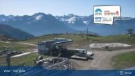 Archiv Foto Webcam Bergstation Venetbahn in Landeck 01:00
