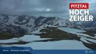 Archived image Webcam Jerzens - Zirbenbahn Bergstation 19:00
