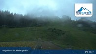 Archived image Webcam Kaprun: View Top Station Maiskogelbahn 19:00