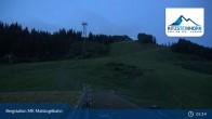 Archived image Webcam Kaprun: View Top Station Maiskogelbahn 23:00