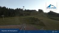 Archiv Foto Webcam Kaprun: Blick von der Bergstation Maiskogelbahn 19:00