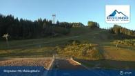 Archiv Foto Webcam Kaprun: Blick von der Bergstation Maiskogelbahn 01:00