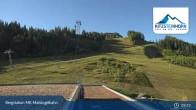 Archiv Foto Webcam Kaprun: Blick von der Bergstation Maiskogelbahn 03:00