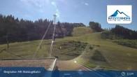Archiv Foto Webcam Kaprun: Blick von der Bergstation Maiskogelbahn 07:00