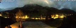 Archived image Webcam Hotel Wildanger - Zöblen 22:00