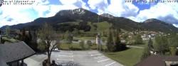 Archived image Webcam Hotel Wildanger - Zöblen 04:00