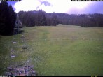 Archived image Webcam Panorama of the base station Wannejochbahn 04:00