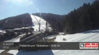 Archived image Webcam Base station of Fieberbrunn 04:00