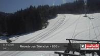 Archived image Webcam Base station of Fieberbrunn 08:00