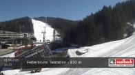 Archived image Webcam Base station of Fieberbrunn 10:00