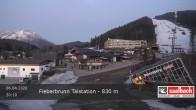 Archived image Webcam Base station of Fieberbrunn 14:00