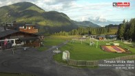 Archived image Webcam View from Streuboedenalm of Timoks Coaster 02:00